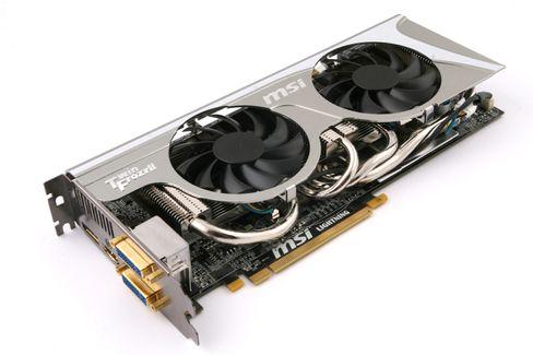 Det overklokkede MSI Radeon HD 5870 Lightning, med gullplatterte kontakter, var et av de aller ypperste kortene i HD 5000-familien.