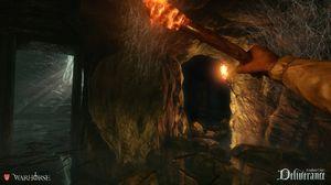 Spillet har kanskje ikke magi, men det har i alle fall noen grotter.