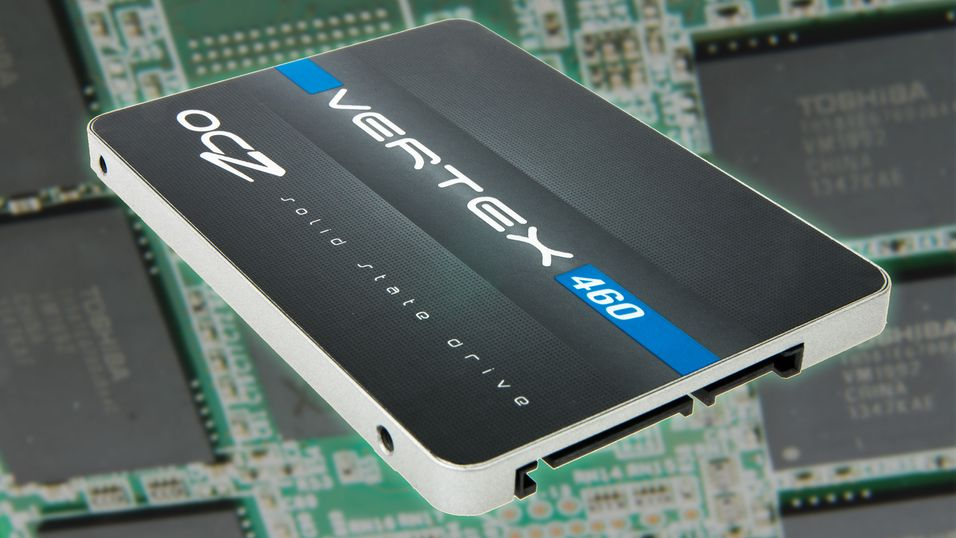 Nye OCZ Vertex 460 er selskapets første SSD etter at Toshiba kjøpte dem opp.
