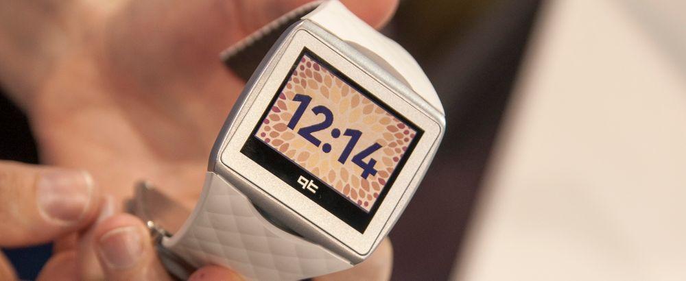 Slik skal en smartklokke være, ifølge Qualcomm. Referansedesignen Toq ble så godt mottatt at klokken nå er kommet i produksjon.