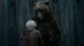 Her ser du skuespilleren Bart the Bear i Game of Thrones.