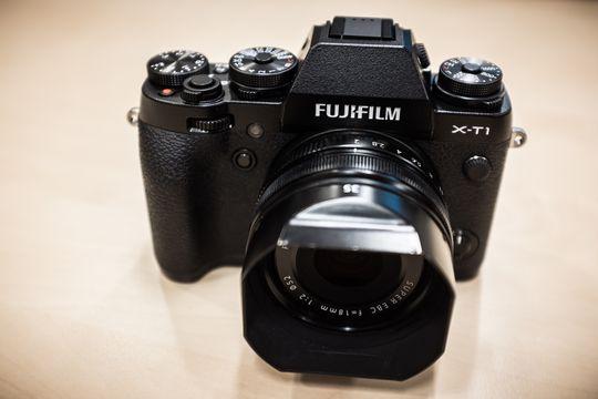 Fujifilm X-T1 med XF 18mm f2.0.