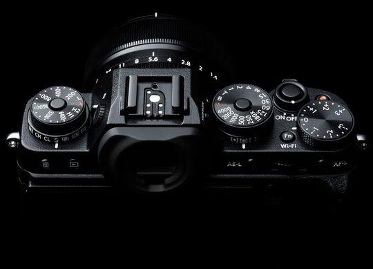 X-T1 gir deg full kontroll på de fleste innstillinger.