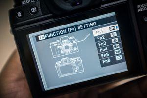 Fujifilm har gjort det enkelt å stille inn Fn-knappene på X-T1.