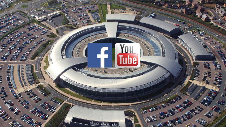 Det britiske etterretningsbyrået GCHQ skal ha brukt data fra Facebook og YouTube til blant annet å spå demonstrasjoner mot myndighetene før de fant sted.