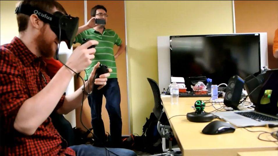 """Desarmerer en """"bombe"""" med Oculus Rift"""