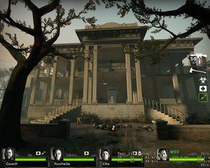 Slik så Plantation ut i Left 4 Dead 2.