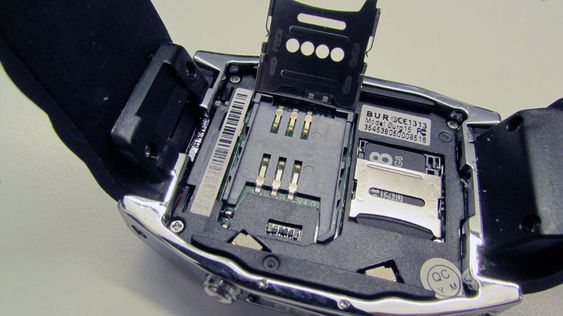 Innmaten ser ut til å stamme fra Nokias overskuddslager.