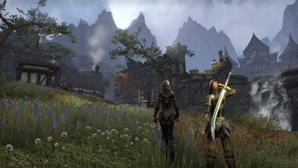 The Elder Scrolls Online krev ikkje PS Plus