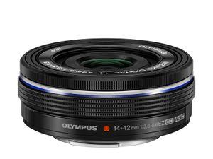 Olympus M.Zuiko Digital ED 14 - 42 mm f/3.5 - 5.6 EZ er ikke store karen.