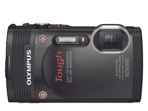 Olympus Stylus TG-850 kommer i sort, grått eller hvitt.