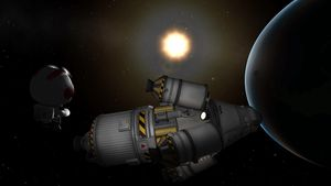 NASA-oppdrag til Kerbal Space Program