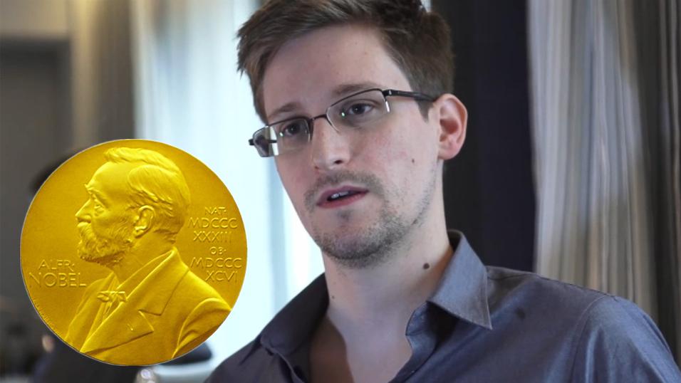 Norske toppolitikere nominerer Snowden til Nobels fredspris
