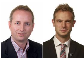Bård Vegar Solhjell (t.v.) og Snorre Valen mener Snowden fortjener Nobels fredspris.