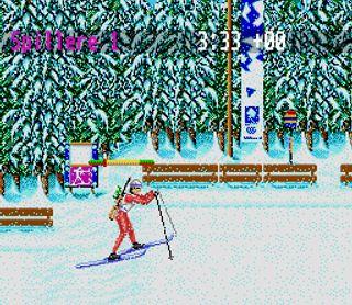 Skiskyting på SNES.