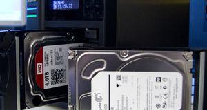 Test: NAS-harddisker