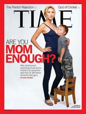 Et av Schoellers bilder som havnet på forsiden av Time Magazine.