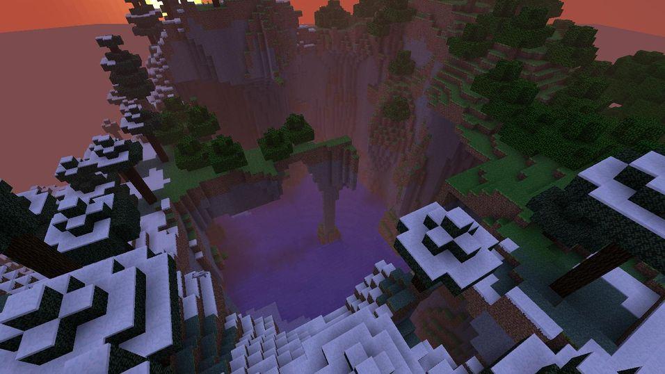 Minecraft kan være vakkert.
