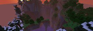 Hva skjer når man kommer til verdens ende i Minecraft?