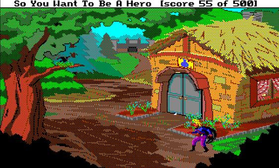 Quest for Glory: So You Want to Be a Hero er blant spillene som brukte spillmotoren SCI fra Sierra. Motoren var så  dårlig at ScummVM-utviklerne måtte bruke et eget system for å tolke innnskrevet tekst som fungerer med de originale spillskriptene. .