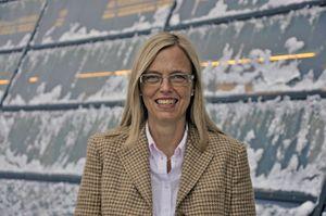 Marina Lønning, leder for bedriftsmarkedet i Telenor. .