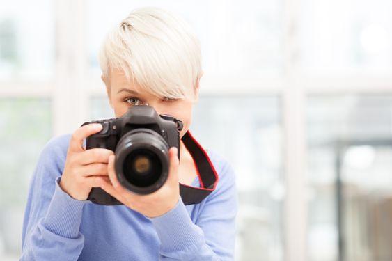 Slik holder du kameraet stabilt - desto mer om du bruker søkeren. .