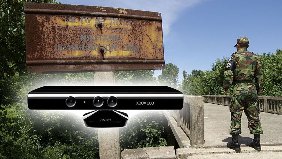 Vokter landegrensen med Kinect