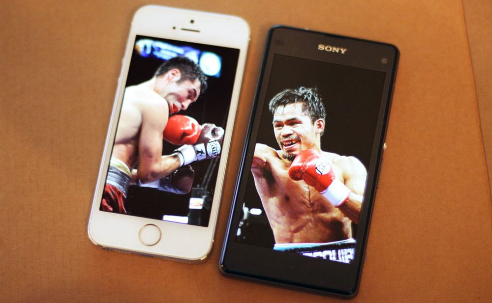 TEST: Duell: iPhone 5S mot Xperia Z1 Compact