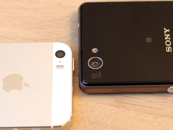 Sony Xperia z1 Compact har det beste kameraet.