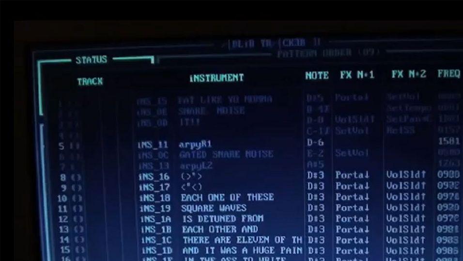 Denne låta er laget i MS- DOS