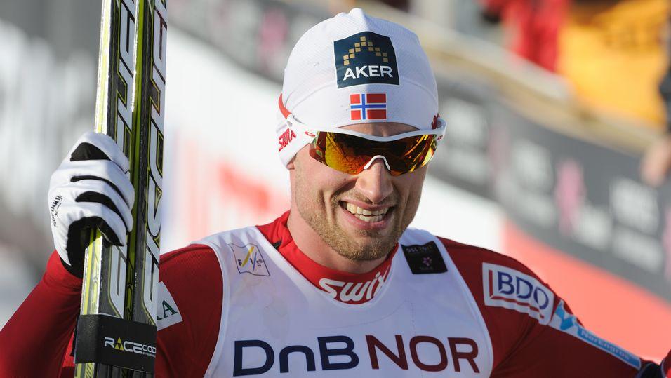 Petter Northug sto for den foreløpige trafikktoppen under Sotsji-OL under søndagens 30-kilometer. Telenor venter at trafikken vil øke når hverdagene kommer.