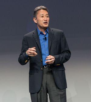 Sjefen selv, Kazuo Hirai.