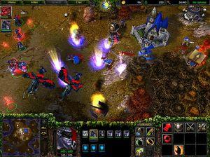 WarCraft III er ett av spillene som har holdt lengst stand i WCG:.