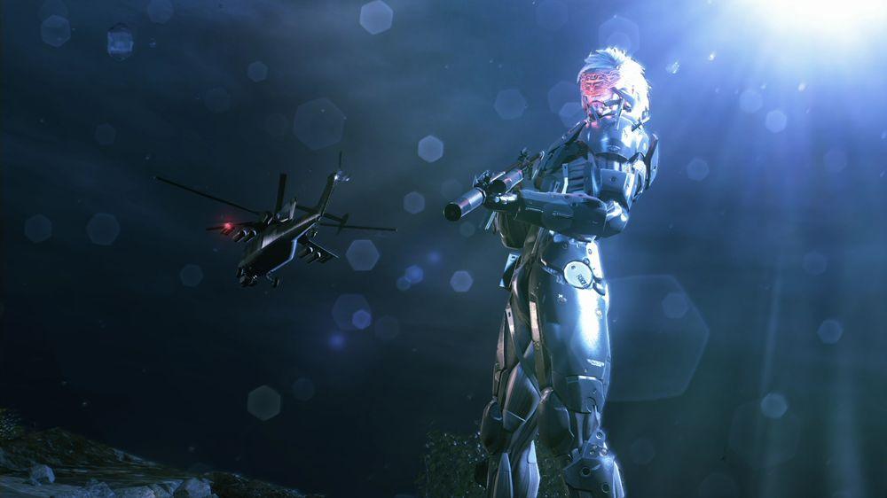 På Xbox 360 kan du spille som Raiden.