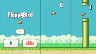 Flappy Bird, et indiespill som gjorde seg bemerkelsesverdig for kun kort tid siden.