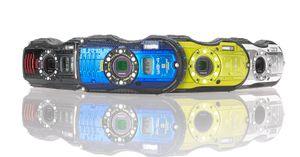 WG-4 kommer i flere friske farger.