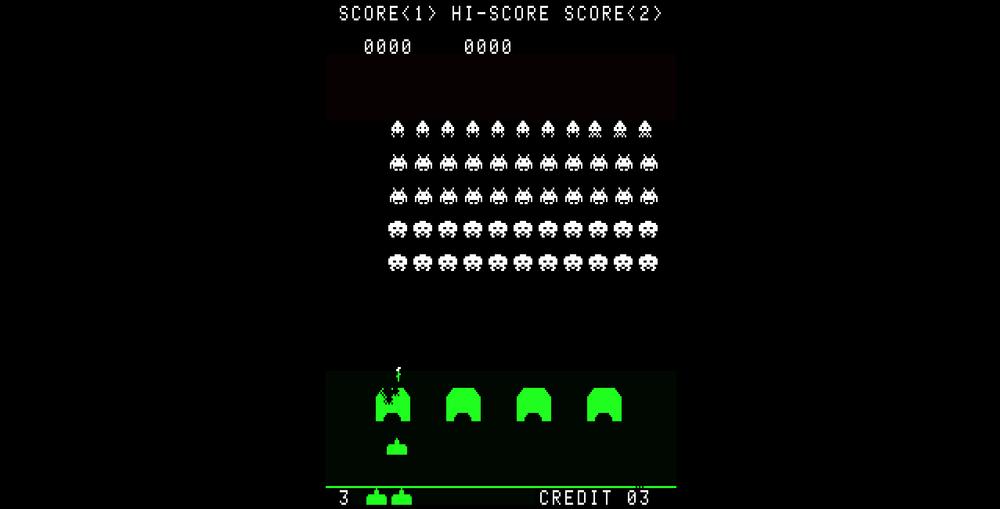 Space Invaders har mye å takke en glitch for.