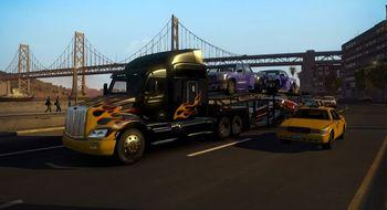 American Truck Simulator starter med California