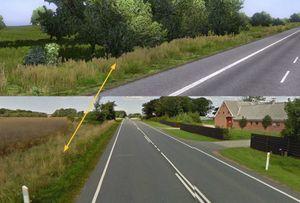 Det blir fint med bedre vegetasjon langs veiene, uansett hvor bildene er fra. (bilde: SCS Software).