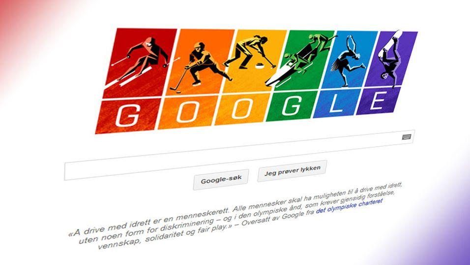 Se Googles OL-protest