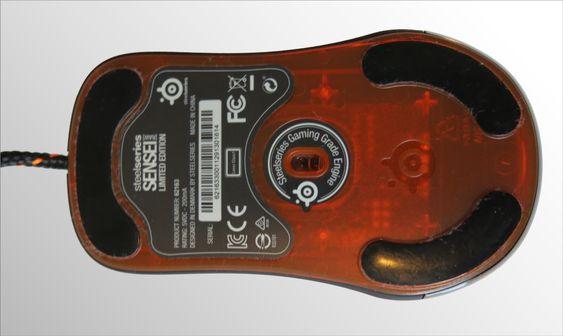 Avago ADNS-9500 lasersensor med 5700 DPI.