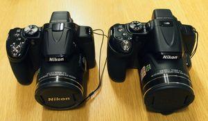 P530 og P600 ved siden av hverandre.