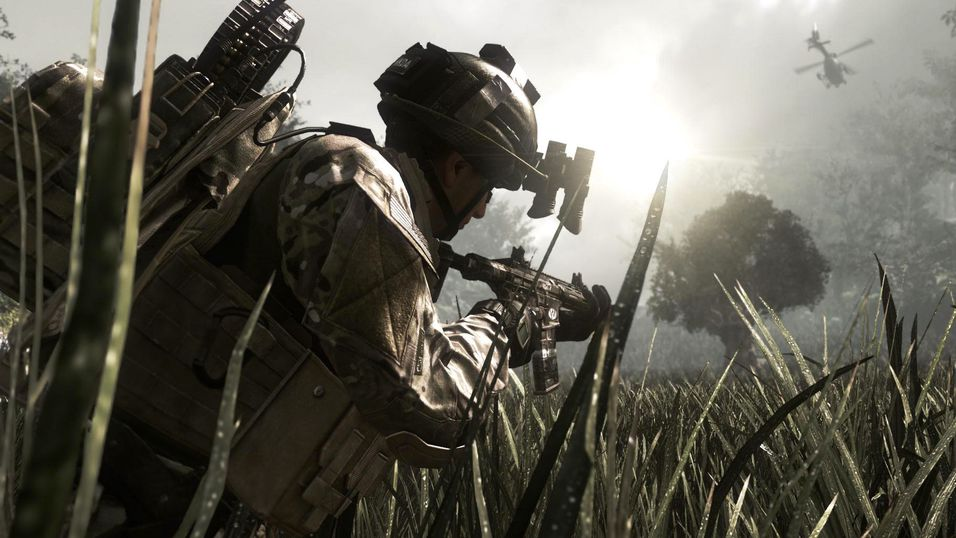Call of Duty: Ghosts slo ikke helt an.