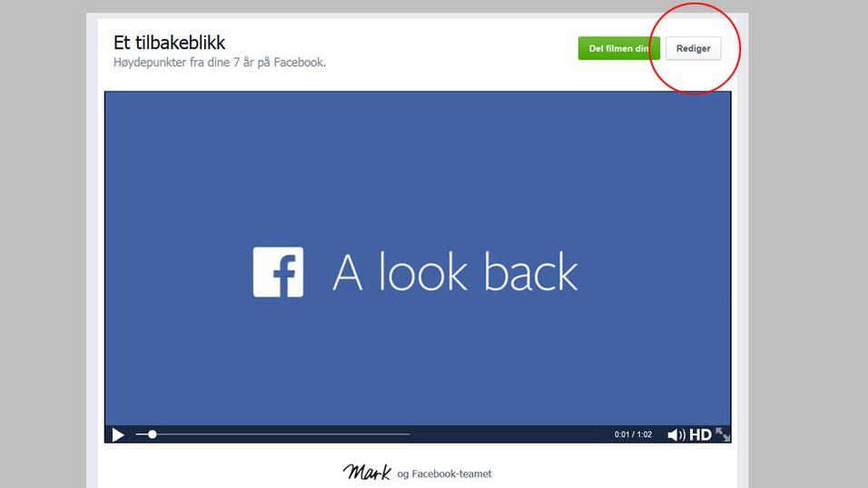 Nå kan du fikse Facebook-filmen din