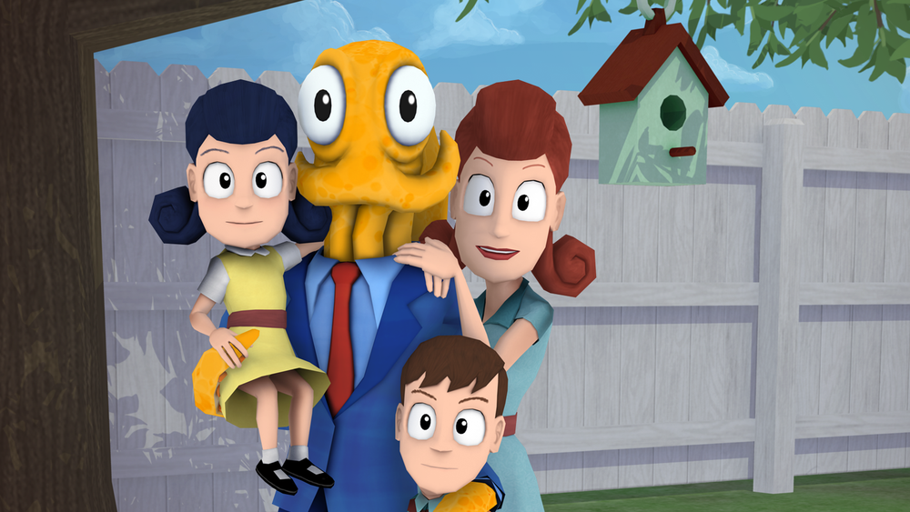 ANMELDELSE: Octodad: Dadliest Catch