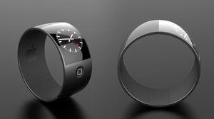 Et annet konseptbilde av iWatch, laget av den danske industridesigneren Esben Oxholm.