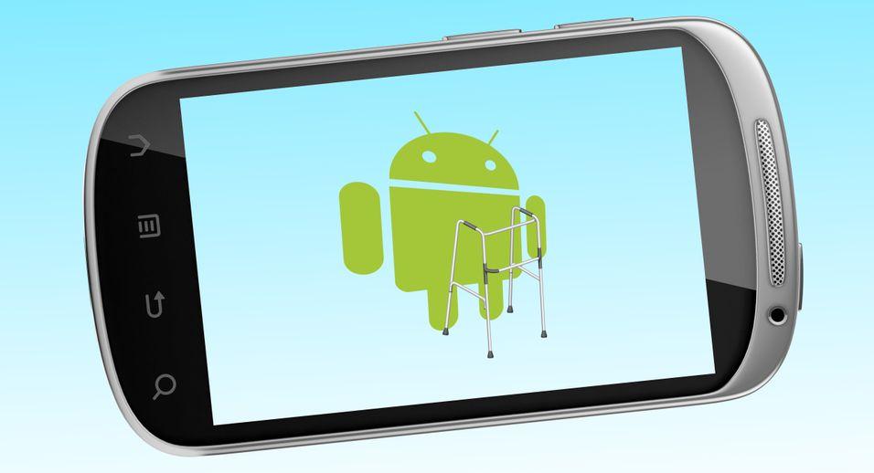 Lei av gammel Android på mobiltelefonen?