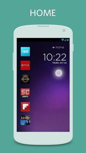 Cover Lock Screen tilpasser låseskjermen din med appene du bruker mest, avhengig av situasjon.