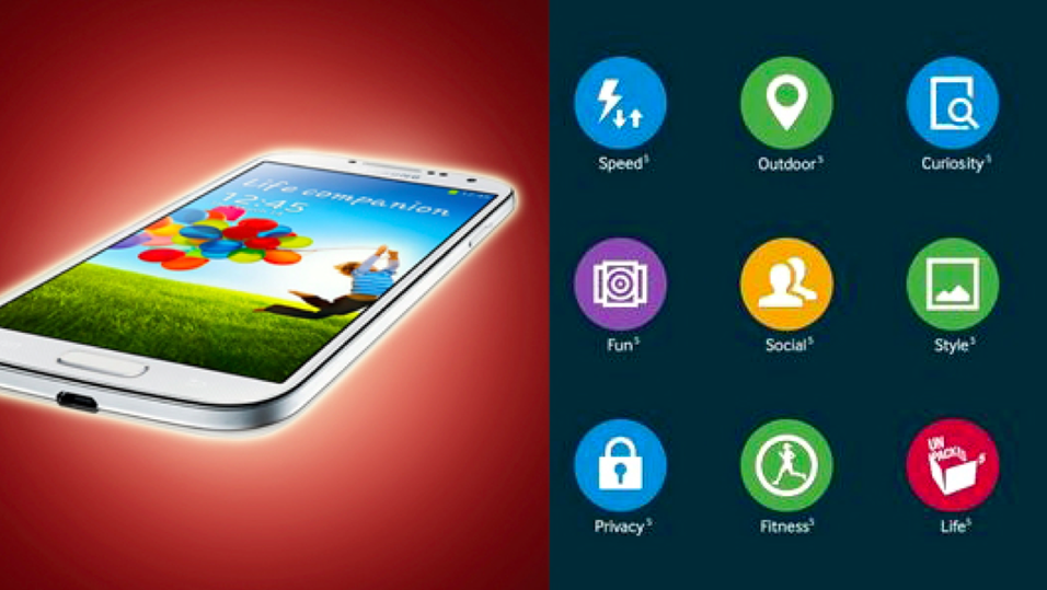 Samsung hinter om noen av funksjonene i Galaxy S5