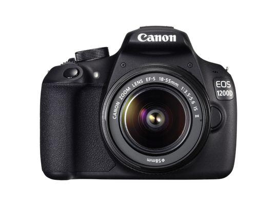 Selv med et objektiv er ikke Canon EOS 1200D store saken.